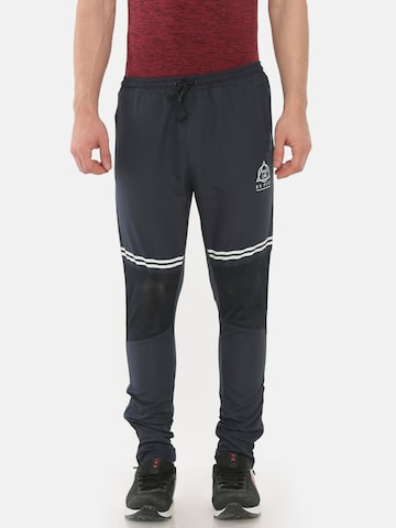 Proline Men Active Navy Blue Track Straight Fit Solid Track Pants Proline Active Track Pants at myntra