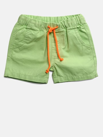 United Colors of Benetton Boys Green Solid Regular Fit Shorts United Colors of Benetton Shorts at myntra