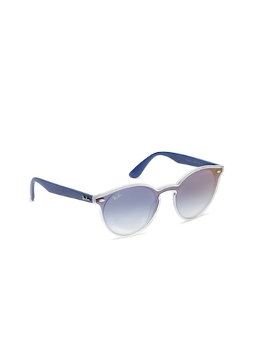 Ray-Ban Unisex Round Sunglasses 0RB4440N601/7141 Ray-Ban Sunglasses at myntra