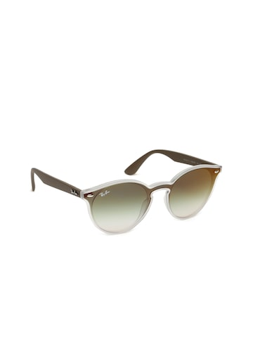 Ray-Ban Unisex Oval Sunglasses 0RB4380N6358W037 Ray-Ban Sunglasses at myntra