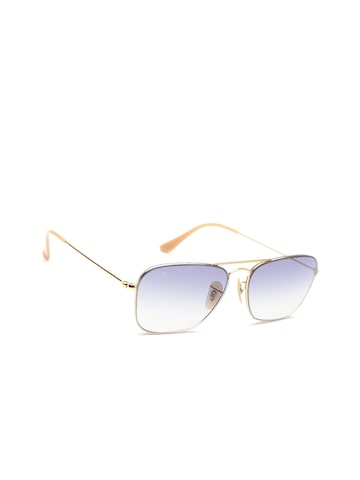 Ray-Ban Unisex Rectangle Sunglasses 0RB3603001/1956 Ray-Ban Sunglasses at myntra