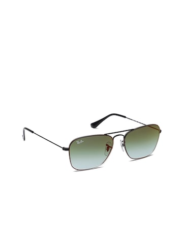 Ray-Ban Unisex Rectangle Sunglasses Ray-Ban Sunglasses at myntra
