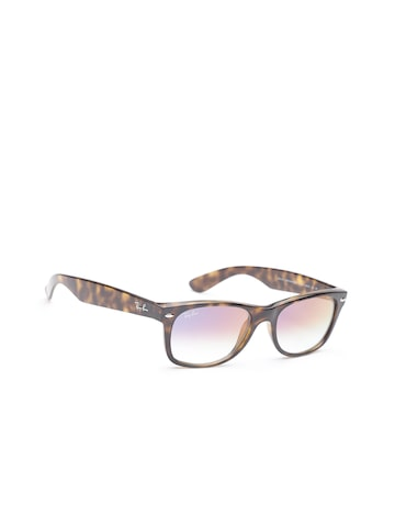 Ray-Ban Men Rectangle Sunglasses 0RB2132710/S552 Ray-Ban Sunglasses at myntra