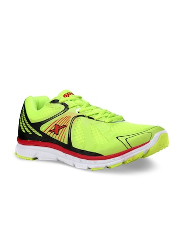 Sparx Men Fluorescent Green Running Shoes Sparx Sports Shoes at myntra