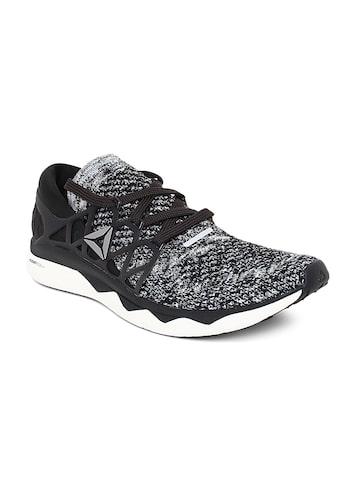 Reebok Men Black Floatride ULTK Running Shoes Reebok Sports Shoes at myntra