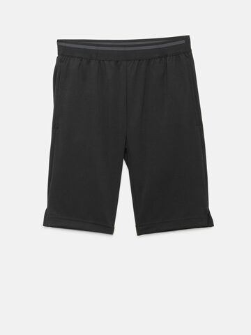 Adidas Boys Black YB Cool Training Shorts Adidas Shorts at myntra