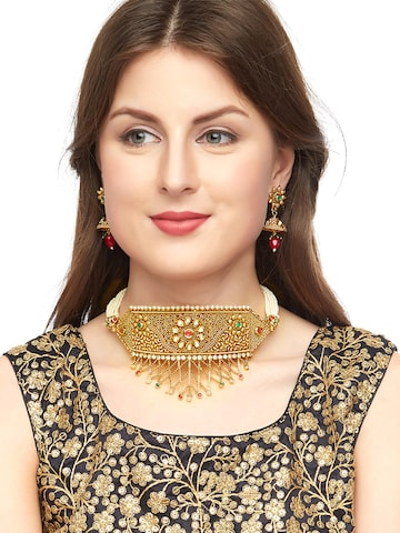 Sia Art Jewellery Gold-Plated Jewellery Set Sia Art Jewellery Jewellery Set at myntra