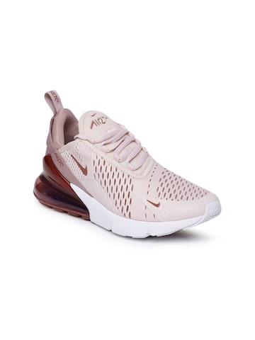 Nike Women Pink & Burgundy Air Max 270 Sneakers Nike Casual Shoes at myntra
