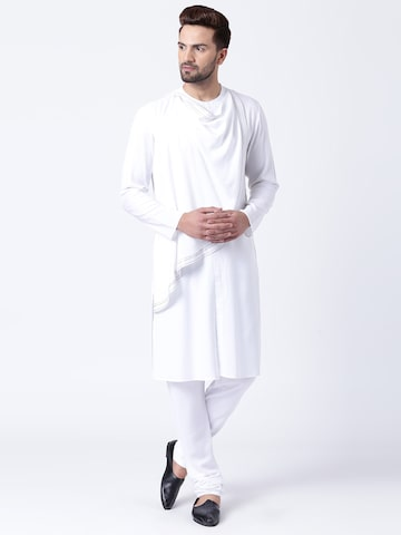 I Know Men White Solid Straight Kurta I Know Kurtas at myntra