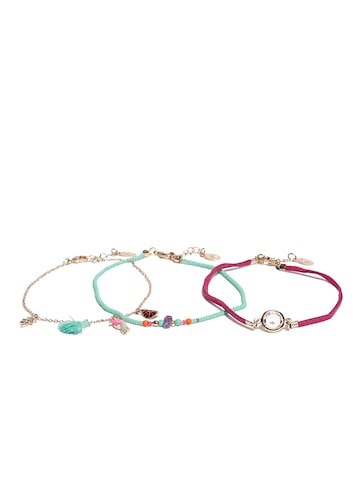 Accessorize Set of 3 Anklets Accessorize Anklet at myntra