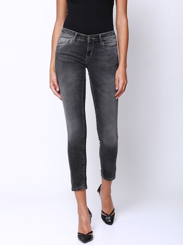 Tokyo Talkies Women Grey Super Skinny Fit Mid-Rise Clean Look Stretchable Jeans Tokyo Talkies Jeans at myntra