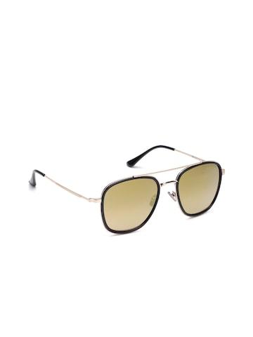 Farenheit Unisex Square Mirrored Sunglasses SOC-FA-9011-C1 Farenheit Sunglasses at myntra