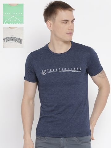 Duke Men Pack Of 3 T-shirts Duke Tshirts at myntra