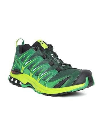 9189c8d6223b Salomon Men Green XA Pro 3D Running Shoes Salomon Sports Shoes from myntra  in Footwear