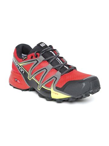 d7c0edf53dd6 Salomon Men Red Speedcross Vario 2 GTX Fiery Running Shoes Salomon Sports  Shoes from myntra in