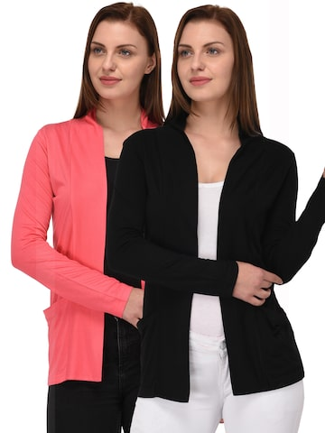 Espresso Women Pack Of 2 Shrugs Espresso Shrug at myntra