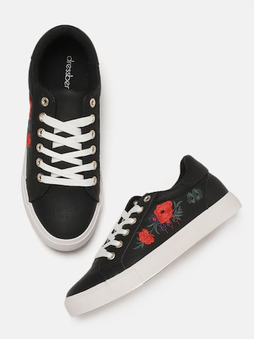 DressBerry Women Black Sneakers DressBerry Casual Shoes at myntra