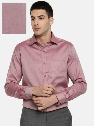 Park Avenue Men Pink Solid Formal Shirt Park Avenue Shirts at myntra