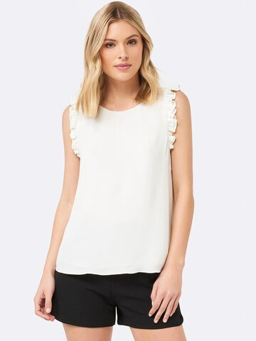 Forever New Women White Solid Top Forever New Tops at myntra