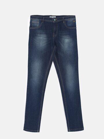 Allen Solly Junior Boys Blue Slim Fit Mid-Rise Clean Look Jeans Allen Solly Junior Jeans at myntra