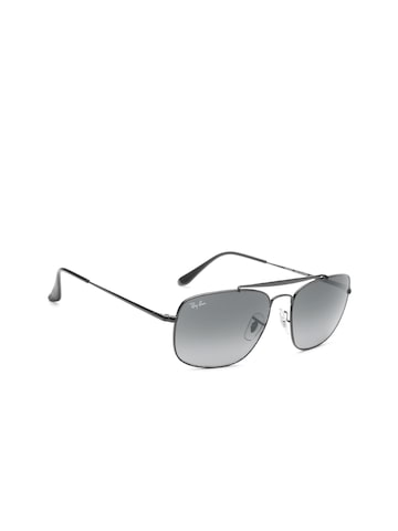 Ray-Ban Men Rectangle Sunglasses 0RB3560002/7158 Ray-Ban Sunglasses at myntra