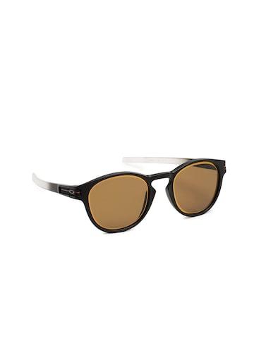 OAKLEY Men Brown Oval Sunglasses 0OO926592653653 OAKLEY Sunglasses at myntra