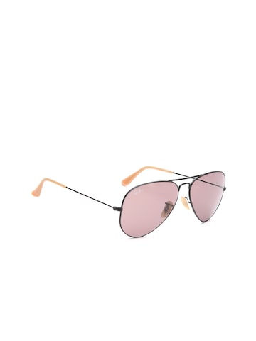 Ray-Ban Men Aviator Sunglasses 0RB30259066Z058 Ray-Ban Sunglasses at myntra