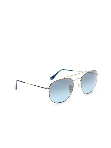Ray-Ban Unisex UV Protected Oval Sunglasses 0RB364891023M54 Ray-Ban Sunglasses at myntra