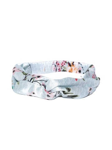 Blueberry Women Blue Printed Satin Hairband Blueberry Hair Accessory at myntra