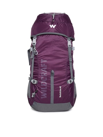Wildcraft Unisex Purple Rock&Ice 40 Rucksack Wildcraft Rucksacks at myntra