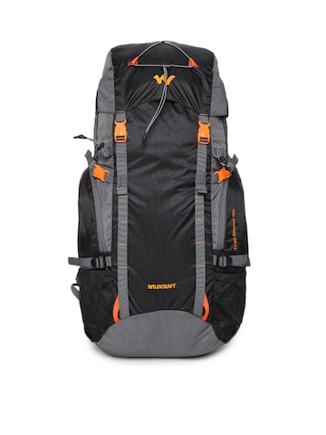 Wildcraft Unisex Black Trailblazer 50 Rucksack Wildcraft Rucksacks at myntra