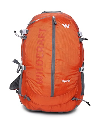 Wildcraft Unisex Orange Eiger 45 Rucksack Wildcraft Rucksacks at myntra