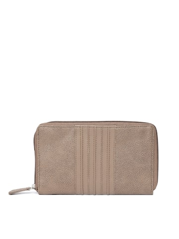 Baggit Women Brown Solid Zip Around Wallet Baggit Wallets at myntra