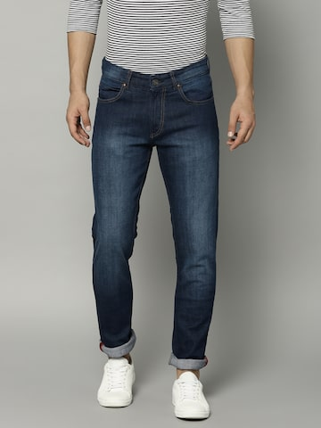 French Connection Men Blue Slim Fit Mid-Rise Clean Look Stretchable Jeans French Connection Jeans at myntra