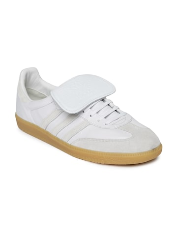 Adidas Originals Men Off-White Samba Recon LT Leather Casual Shoes Adidas Originals Casual Shoes at myntra