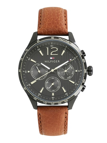 Tommy Hilfiger Men Black Analogue Watch TH1791470 Tommy Hilfiger Watches at myntra