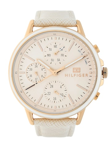 Tommy Hilfiger Women Peach-Coloured Analogue Watch TH1781789 Tommy Hilfiger Watches at myntra