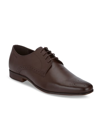 Red Tape Men Brown Formal Leather Derbys Shoes Red Tape Formal Shoes at myntra