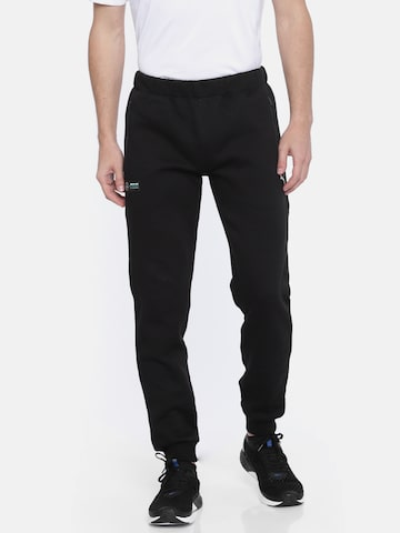 Puma Men Black Mercedes Solid Joggers Puma Track Pants at myntra