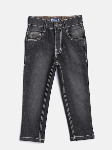 612 league Boys Black Regular Fit Mid-Rise Clean Look Jeans 612 league Jeans at myntra