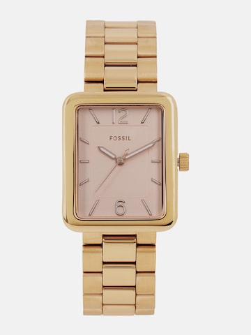 Fossil Women Rose Gold-Toned Analogue Watch ES4156I_OR Fossil Watches at myntra