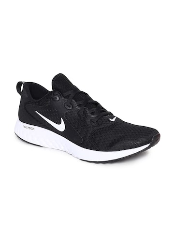 Nike Men Black Legend React Running Shoes Nike Sports Shoes at myntra