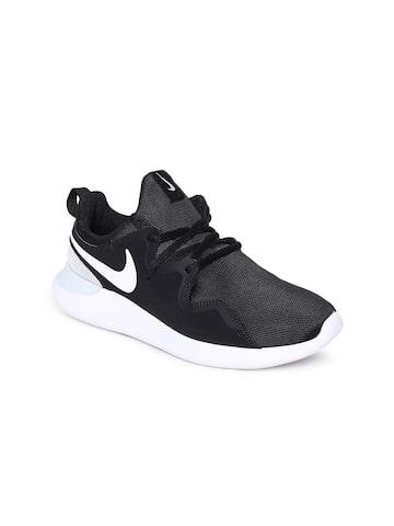 Nike Women Black TESSEN Sneakers Nike Casual Shoes at myntra