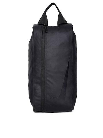 Nike Men Black Solid Backpack Nike Backpacks at myntra