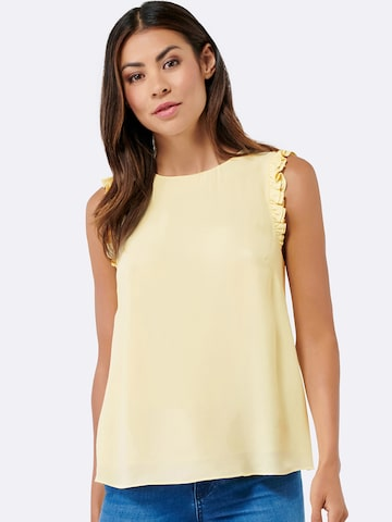 Forever New Women Yellow Solid Tank Top Forever New Tops at myntra