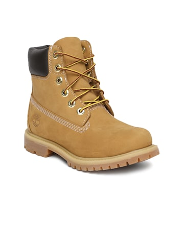 Timberland Men Brown Iconic 6 Inch Premium Boots Timberland Casual Shoes at myntra