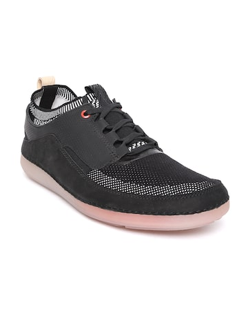 Clarks Men Black Sneakers Clarks Casual Shoes at myntra