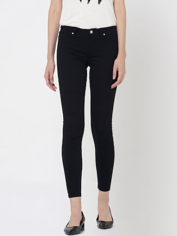 ONLY Women Black Slim Fit Jeggings ONLY Jeggings at myntra