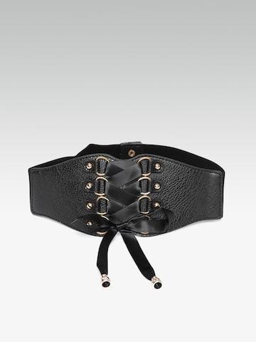 20Dresses Women Black Solid Belt 20Dresses Belts at myntra