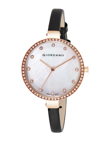 GIORDANO Women Off-White Analogue Watch 2934-03 GIORDANO Watches at myntra